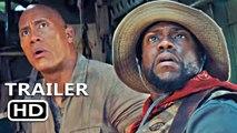 JUMANJI 3: THE NEXT LEVEL Official Trailer (2019) Dwayne Johnson, Kevin Hart Movie