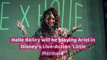 Halle Bailey Has Been Cast as Ariel In the New 'Little Mermaid'