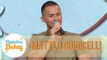 Matteo shares that he invited Daniel Padilla to join the Army Reserve Force | Magandang Buhay