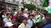 Une foule de manifestants à Alger malgré un important dispositif policier