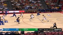 Philadelphia 76ers at Milwaukee Bucks Recap Raw