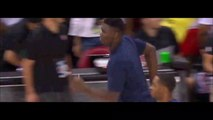 Zion Williamson runs out to NBA court first time and does off glass dunk 7-5-19