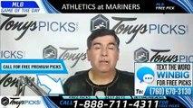 Oakland Athletics vs Seattle Mariners 7/6/2019 Picks Predictions Previews