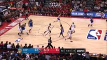 Zion Williamson snatches takes ball from Kevin Knox throws him down then dunks on him 7-5-19