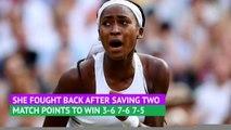 Day 5 Review - Gauff shines as Djokovic battles