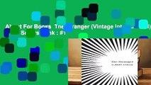 About For Books  The Stranger (Vintage International)  Best Sellers Rank : #1