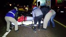Siate socorre motociclista ferido após batida de trânsito às margens da BR-277