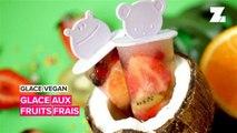 Glace végétalienne: faire des sucettes glacées aux fruits