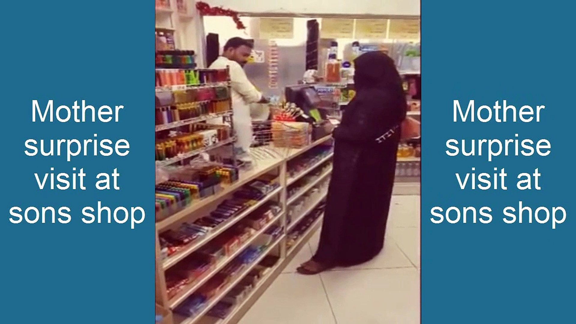Adorable Moment Mother Surprise visit at Son's shop | Viral Trending Emotional Video
