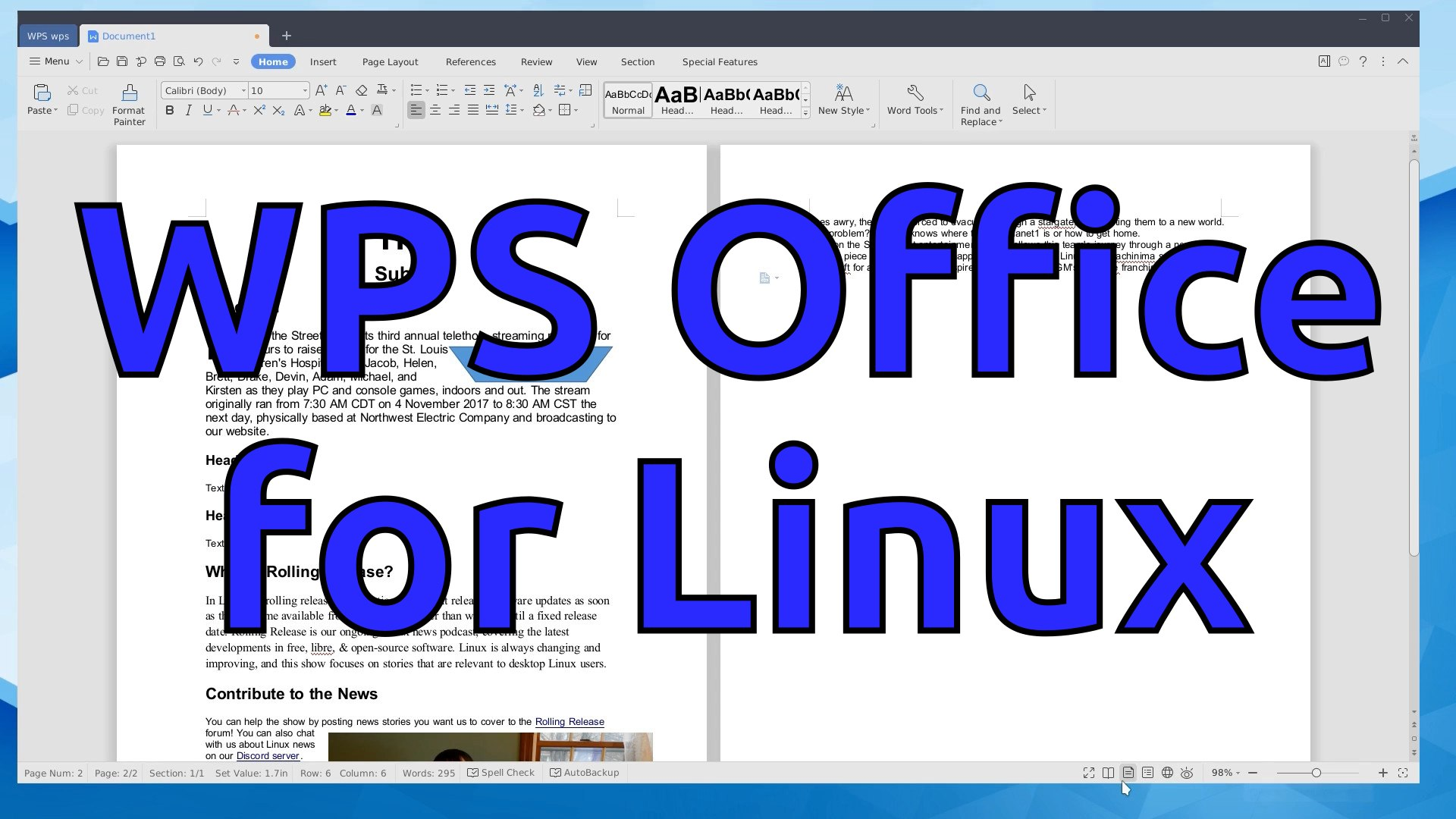 install wps office linux mint 19