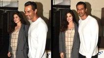 Arjun Rampal & Pregnant GF Gabriella Demetriades Spotted On A Dinner Date