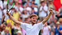"""Wimbledon 2019 - David Goffin a battu Daniil Medvedev en 5 sets et 3h30 de jeu : """"C'était un match épique !"""""""