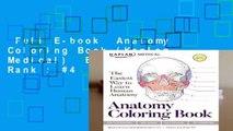 Full E-book  Anatomy Coloring Book (Kaplan Medical)  Best Sellers Rank : #4