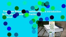 Trial New Releases  Dreeben-Irimia's Introduction to Physical Therapist Practice for Physical