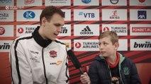 EuroLeague Academy reporter asks Voigtmann