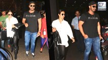Malaika Arora And Arjun Kapoor Return From Their ROMANTIC Holiday In New York