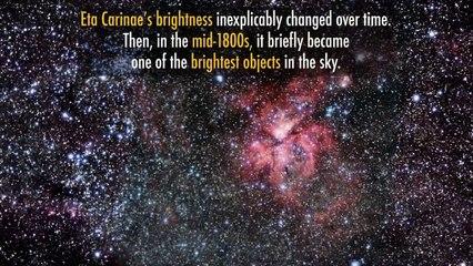 NASA celebra 4 de Julio con nuevas imágenes de la estrella Eta Carinae a punto de estallar en Supernova