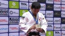 Japón encabeza el medallero tras la jornada inaugural del Gran Premio de Montreal de Judo