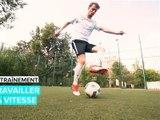 Entraînement de footballeur: travailler la vitesse