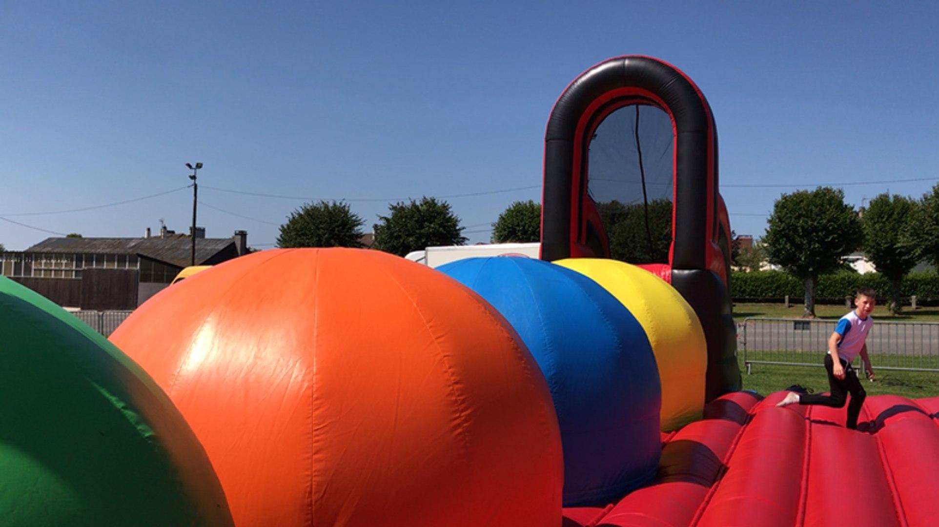 Près de Flers : les enfants peuvent s'amuser tout le week-end à Tinchebray plage