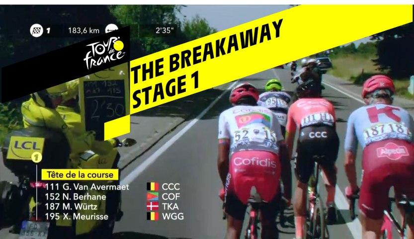 L'échappée / The Breakaway - Etape 1 / Stage 1 - Tour de France 2019