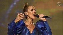 PHOTOS. Céline Dion en combinaison à paillettes : une diva déc...