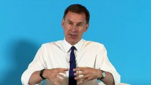 Jeremy Hunt on getting a new Brexit deal