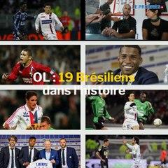 Les 19 Brésiliens de l'histoire de l'OL