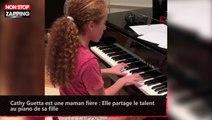 Cathy Guetta est une maman fière : Elle partage le talent au piano de sa fille (vidéo)