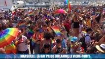 Marche des Fiertés : plusieurs centaines de personnes réunies à Marseille