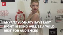 Anya Taylor-Joy Shares Her New Movie