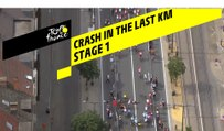 Chute dans le dernier KM / Crash in the last KM - Étape 1 / Stage 1 - Tour de France 2019