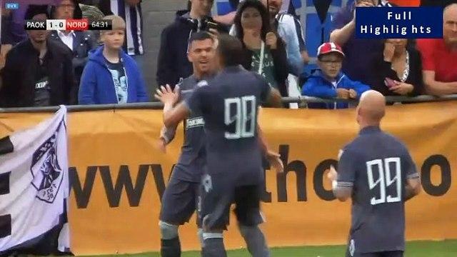 2-0 Antonios Gaitanidis AMAZING Goal - PAOK 2-0 FC Nordsjaelland 06.07.2019