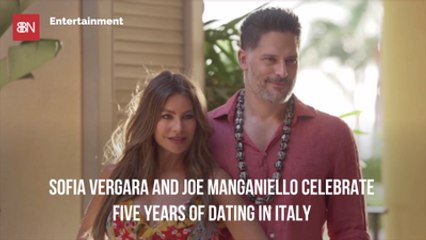 Sofia Vergara And Joe Manganiello Celebrate In Italy