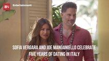 Sofia Vergara And Joe Manganiello Celebrate In Italy