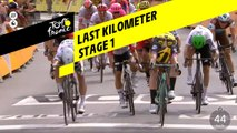 Last kilometer / Flamme rouge - Étape 1 / Stage 1 - Tour de France 2019