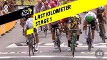 Last kilometer / Flamme rouge - Étape 1 / Stage 1 - Tour de France 2019