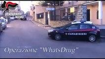 Sardegna traffico di droga via WhatsApp in Ogliastra 3 arresti (06.07.19)