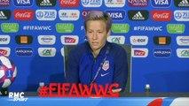 Coupe du monde (F) : Rapinoe évoque son rôle de modèle au sein de la sélection américaine