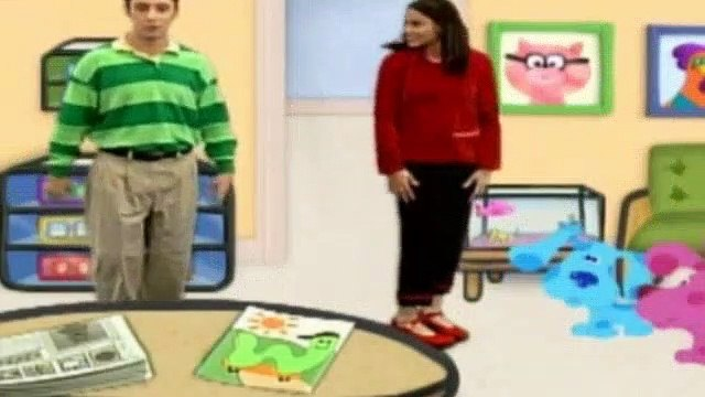 Blues Clues Season 4 Episode 1 - Magenta Gets Glasses