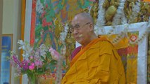 Tibetans in India celebrated the 84th birthday of the Dalai Lama on Saturday