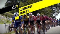 Summary - Stage 1 - Tour de France 2019