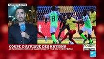 CAN-2019 : Le Cameroun, tenant du titre, éliminé par le Nigéria (3-2)