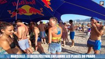 Marseille : le Delta festival enflamme les plages du Prado