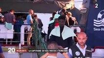 """Migrants : Carola Rackete la capitaine du """"Sea-Watch"""" porte plainte pour diffamation contre le ministre de l'Intérieur italien"""