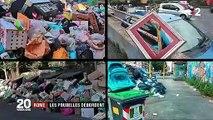 Italie : les poubelles débordent à Rome