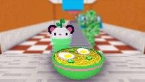 Monster School: WORK AT RAMEN NOODLES PLACE! - Minecraft Animation