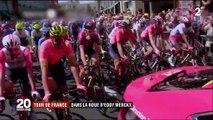 Tour de France : le peloton est passé chez le légendaire Eddy Merckx