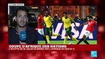 CAN-2019 : Coup de tonnerre au Caire ! L'Egypte éliminée par l'Afrique du Sud (1-0)
