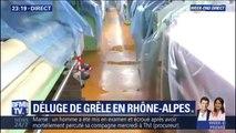 Une entreprise de tissage touchée par un déluge de grêle dans la Loire
